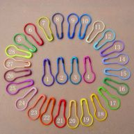 Colored Small Bulb Gourd Iron Safety Pins