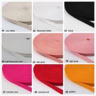 84 Colors Herringbone Cotton Twill Tape Ribbon 45m/Roll-009386