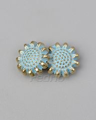 Metal Flower Buttons for Jeans 1000pcs CB028