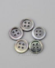 Iridescent MOP Sewing Shell Button 1000pcs CB011