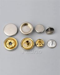 Fashion Spring Metal Snaps buttons for clothing 1000 sets-SF01