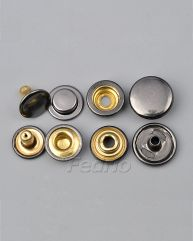 Fashion Spring Metal Snaps buttons for clothing 1000 sets-SF03