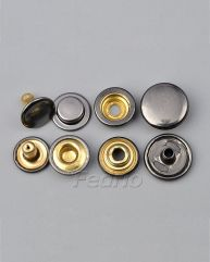 Metal Snap Buttons for Clothing 1000 Sets SF30