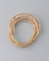 Natural hemp twine and cord for hang tags 1.2mm HTS003