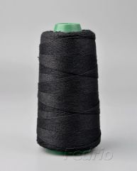 Black cotton twine cord for hang tags 1mm HTS006