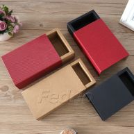 Kraft Gift Boxes with Glitter Lids for Storing Packaging 5pcs 009352