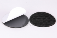 Black/White Self-Adhesive Round Hook and Loop Sticky Back Dots Tape 50pairs/Pack 009311