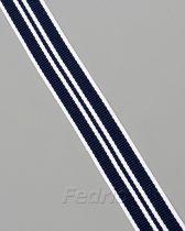 grosgrain striped ribbon 20mm 50 yards-RB25