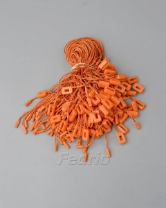 Blue/Grey/Orange  Plastic Hang Tag Polyester String Fasten with A Buckle and Single Plug 1000pcs/pack HTS179