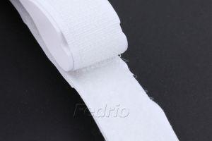 Black/White Adhesive-Backed Hook and Loop Fastener Tape Roll 25m/Pair 009310